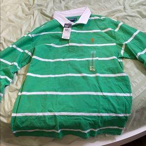 Boys XL (18-20) Ralph Lauren full sleeve polo